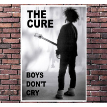 Poster Exclusivo The Cure Robert Smith Rock Tamanho 30x42cm