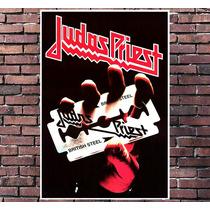 Poster Exclusivo Judas Priest Heavy Metal Rock - 30x42cm