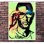 Poster Exclusivo Usher Rap Rapper Hip Hop Black - 30x42cm