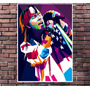 Poster Exclusivo Axl Rose Guns Roses Pop Art Rock - 30x42cm