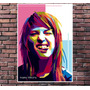 Poster Exclusivo Hayley Williams Paramore Pop Art - 30x42cm