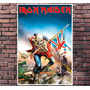 Poster Exclusivo Iron Maiden The Trooper Metal Rock 30x42cm