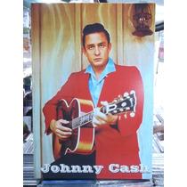 Johnny Cash Country - Lindo Quadro Poster Madeira
