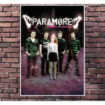 Poster Exclusivo Paramore - Rock - Tamanho 30x42cm