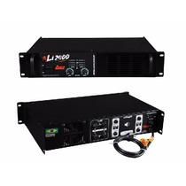 Potência Li 2400 Leacs - Mundo Dos Djs