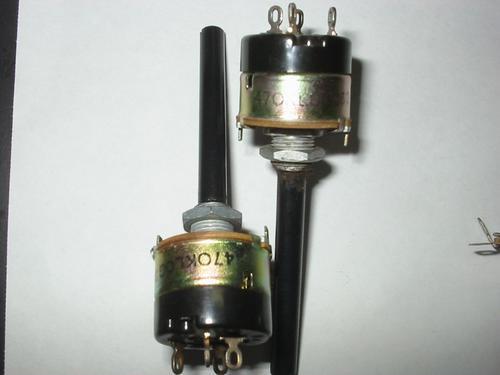 Potenciometro 470k Log C/chave Radios E Amp. Valvulados