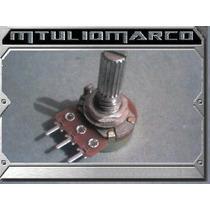 Potenciometro 500k Log - Componente Eletronico Dpdt Pedal