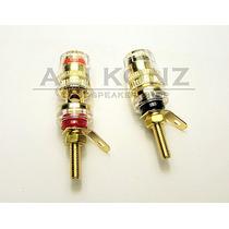 Conector Para Receiver/ Amplificador Binding Post Isolado