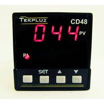 Controlador Digital De Temperatura 48x48 Com 1 Display