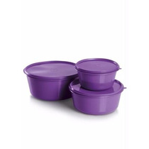Tupperware Tapoer 3 Potes - 2 Kits Forte E Resistente