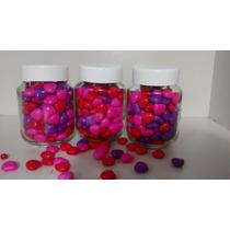 20 Potes De Vidro 170 Ml Com Tampa De Plastico Lembrancinhas