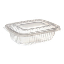 Pote De Plástico Descartável Para Freezer E Microondas Com