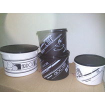 Kit Mantimentos Preto E Branca Tupperware