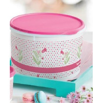 Cx De 5 Litros Floral Tupperware