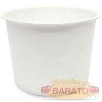 40 Balde Pipoca Branco 1.5 Litros - R$1,49un