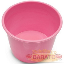 50 Baldinho P/lembrancinhas Rosa Chá 1 Litro - R$0,99un