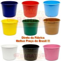 Balde De Pipoca Para Personalizar - C/ 10un Varias Cores 1lt