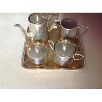 Baixela Para Chá E Café Em Prata 90