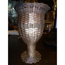 Taça / Vaso Em Prata De Lei 800