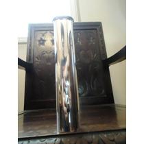 Elegante,moderno Vaso Solifleur Vintage Prata St.james,déc80