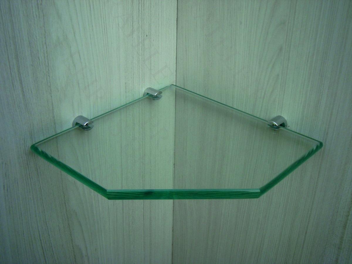 Prateleira De Vidro 10mm Cantoneira De Vidro Incolor R$ 12 99 no  #144B32 1200 900