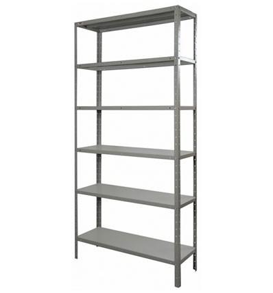 Prateleira estante metal 6 divis es metalica ferro r - Estantes de metal ...