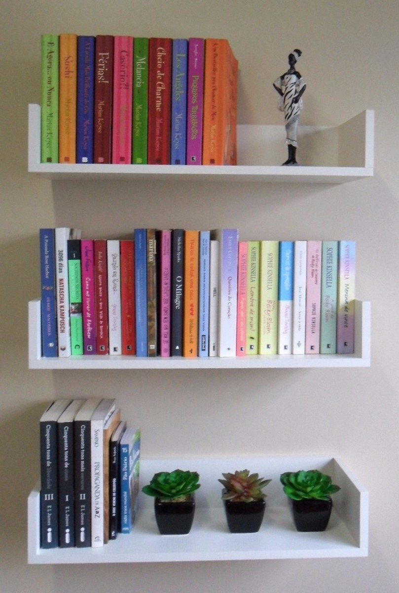 Prateleira Para Livros, Quarto De Bebe Em Mdf Pronta Entrega  R$ 99,00 no Me