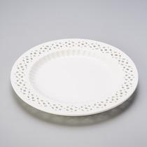 Jogo Com 6 Pratos Jantar, Doce Rendado 3762 - Lole Presentes