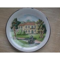 Prato Decorativo Para Parede Porcelana Schimidt(o Casarão)