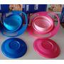 Gyro Bowl - Pratinho Mágico Rosa E Azul Preço De Fábrica