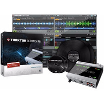 Interface Time Code Traktor Scratch Audio 6 Native Para Djs