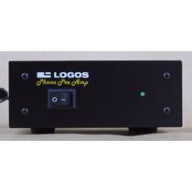 Pre Amplificador Phono Para Toca Discos De Vinil - Magnético