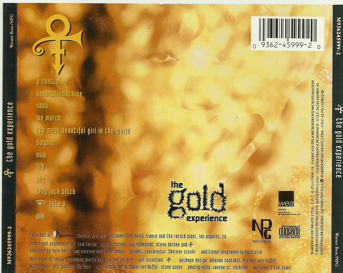 prince the gold experience r 2500 no mercadolivre
