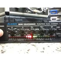 Compressor Rack Alesis 3630 Funcionando 100% Fonte Original