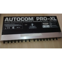 Compressor Behringer Mdx 1600 Autocom
