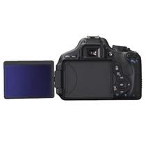 Camera Digital Canon T3i + Lente 18 X 135. 1 Ano De Garantia