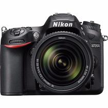 Câmera Nikon D7200 24.2mp Corpo Nova Pronta Entrega,