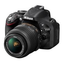 Câmera Nikon D5200 Lente18-55mm+16gb Class 10+bolsa+tripé