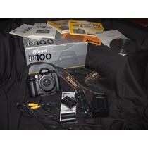 Câmera Nikon D100 C/ Todos Access.+nikon Zoom 35-80m+brinde