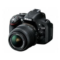 Câmera Nikon D5200 18-55mm + Cartão 32gb + Bolsa + Tripé