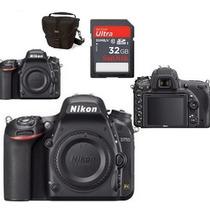 Câmera Digital Nikon D750 Corpo Full Frame+bolsa+32gb C/10 !