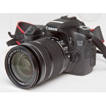 Câmera Canon 70d Wi-fi +18-135 Stm +sandisk16gb +case +tripe