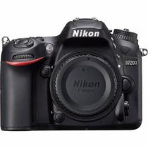 Câmera Digital Nikon D7200 24.2mpx- Wi-fi - Somente O Corpo