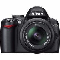 Câmera Nikon D3000 Kit Com Lente 18-55mm +nfe Pronta Entrega