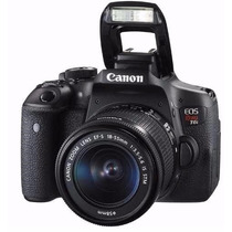 Camera Canon Eos Rebel T6i Dslr Ef-s Somente Corpo