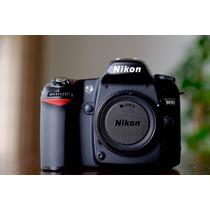 Nikon D80 - Camera Profissional Dslr Nikon 12x Sem Juros