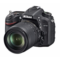 Nikon D7100 Kit 18-105mm Nova, Nota Fiscal E Garantia