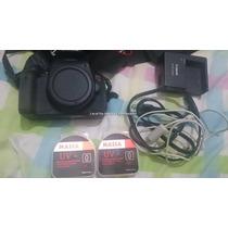 Camera Canon T4i 1500 Cliques Lente 18-55mm +55-250mm