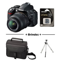 Camera Nikon D3100 Lente 18-55mm+bolsa+tripe+sd 32gb Clas 10