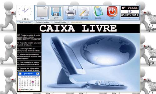 Programa Controle Caixa, Estoque, Clientes, Produtos, Preços
